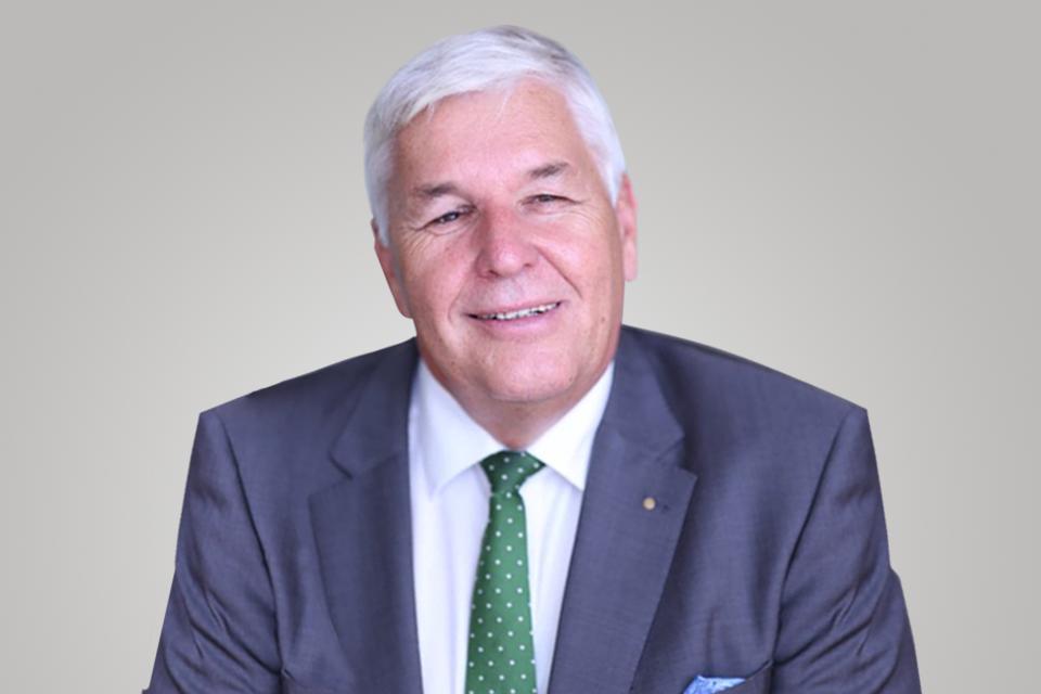 Rail.S Vorstandsmitglied Harald Rüdiger