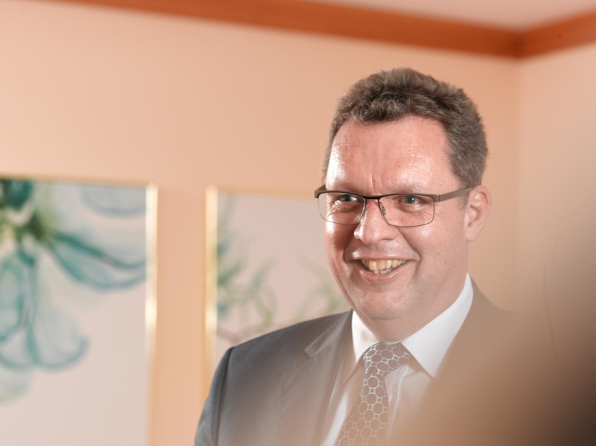 Rail.S Stellvertreter des Vorstandsvorsitzenden Dr. Steffen Röhlig