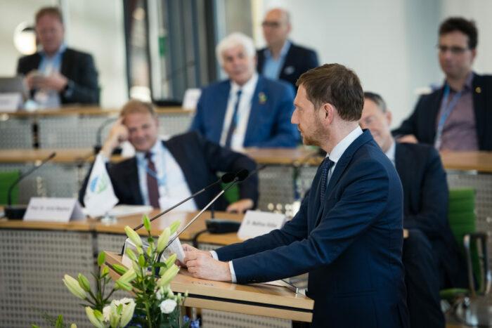 Grusswort des Minsisterpräsidenten Michael Kretschmer auf Rail.S-Festveranstaltung 2021